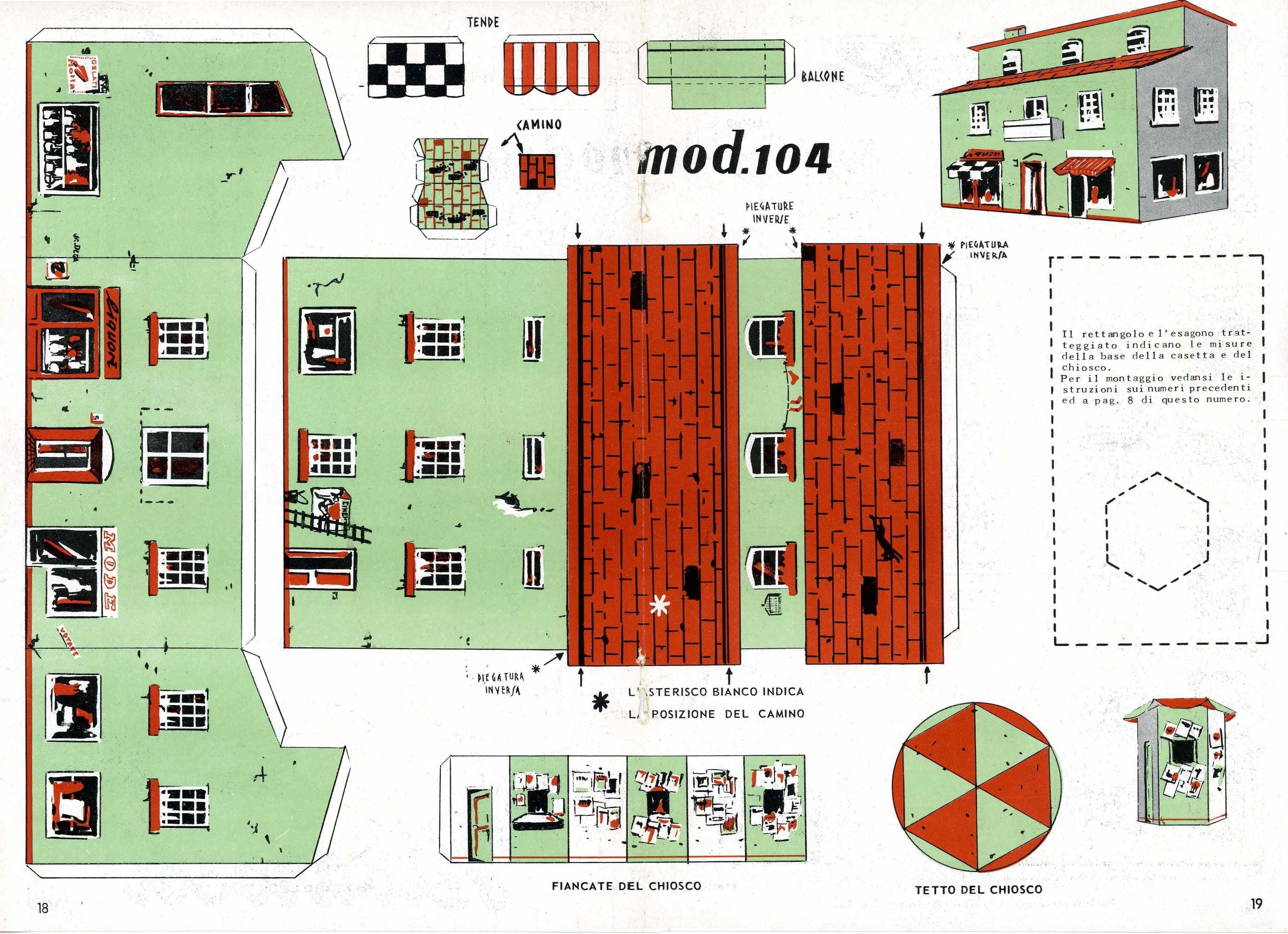 Rivarossi for Case di cottage da costruire