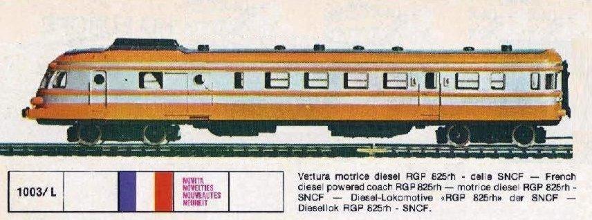LIMA  CARRELLO PER RIMORCHIATA SNCF RGP