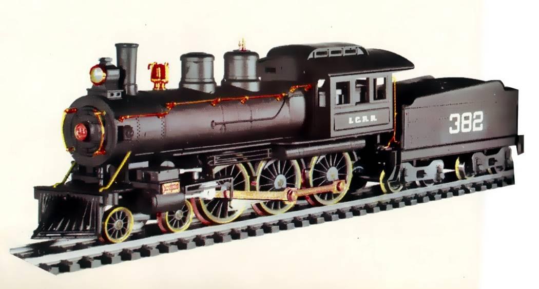 Pocher Rivarossi H0 - 808/2L/PO - Steam locomotive with