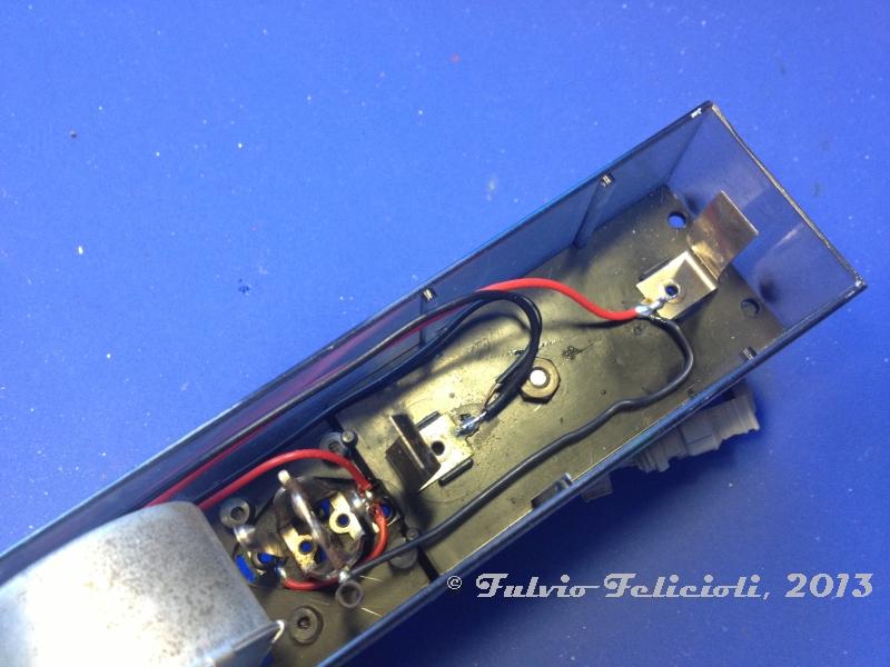 Rivarossi for Porta batteria 9v
